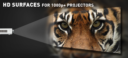 high definition projector screens