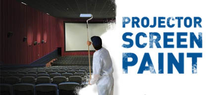 projector screen paint