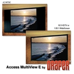 Draper 106003 Access MultiView/Series E 123 diag. (60x107) - MultiFormat - 1.0 Gain