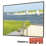 Draper 252074 Clarion 120 diag. (72x96) - Video [4:3] - ClearSound White Weave XT900E 0.9 Gain