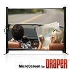 Draper 230300 MicroScreen 40 diag. (24x32) - Video [4:3] - Matt White XT1000E 1.0 Gain