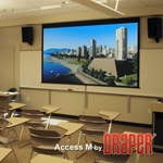 Draper 203237 Access/Series M with AutoReturn 113 diag. (60x96) - Widescreen [16:10] - 1.0 Gain