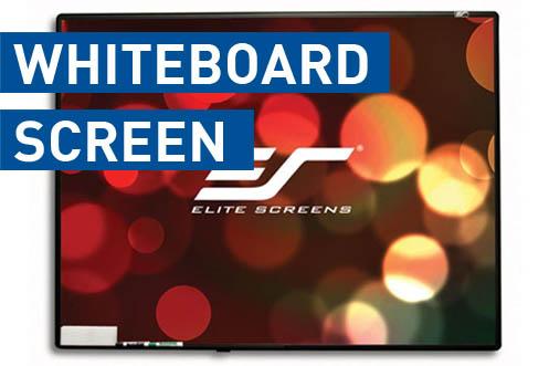 elite whiteboard screen