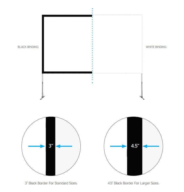 Fast-Fold NXT screen surface binding