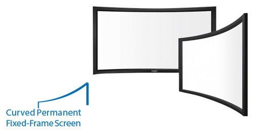Grandview LF-PH120(169)WB7 Curved Frame Screen - 120\
