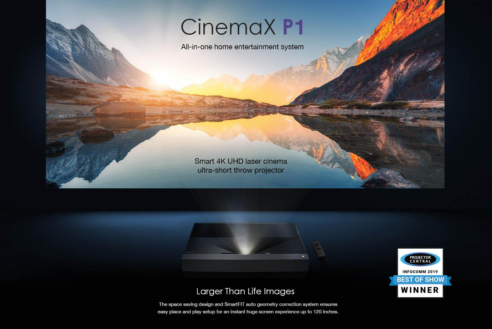 Optoma CinemaX P1 Projector