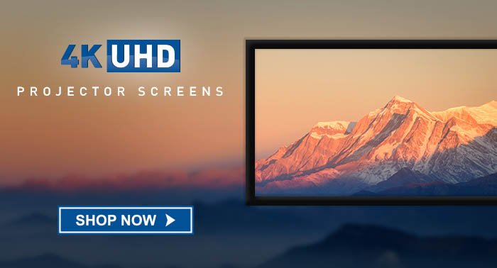 4k projector screens