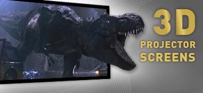 3D Projector Screens