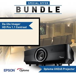 optoma uhz65 projector bundle