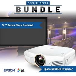 Epson 5050UB SI Black Diamond Screen