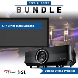 Optoma UHZ65 Screen Innovations Black Diamand