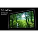 "Home Theater Fixed Frame Projector Screen 16:9 - 1.2 Gain - EluneVision Elara (106"" Diagonal)"
