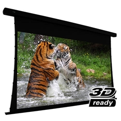 "EluneVision 100"" (49x87) 16:9 Reference Studio 4K Tab Tensioned 1.0 Gain Projector Screen"