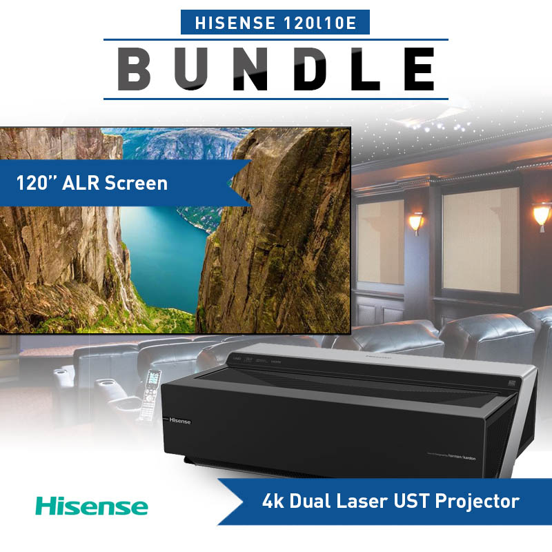 Hisense 120L10E 4K Ultra HD Smart Dual Color Laser Projector System
