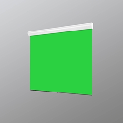 Draper V10804KG VCB Silhouette E 109 Diag. (70x84) - Video [4:3] - Chroma Key Green
