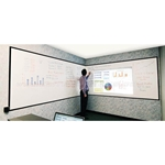 Elite Screens Elite Insta-DE2 Whiteboard Projection Screen 482 inch IWB4, 2X40W2