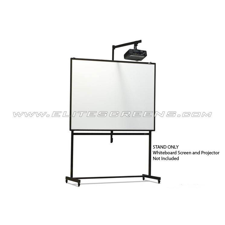 elite zwbmspro universal mobile stand with shortthrow projector mount