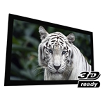 "EluneVision 108"" (52x94) 16:9 Reference Studio 4K PureBright Fixed 2.4 Gain Projector Screen"