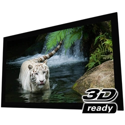 "EluneVision 100"" (49x87) 16:9 Reference Studio 4K Fixed 1.0 Gain Projector Screen"