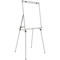 "Ghent 28"") x 4 Leg Easel w/Magnetic Whiteboard (36"""