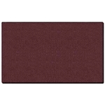 "Ghent 120.5"" x 48.5"" 1/2"" Vinyl Tackboard - Wrapped Edge - Berry"