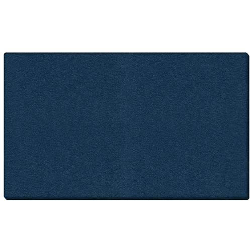 "Ghent 120.5"" x 48.5"" 1/2"" Vinyl Tackboard - Wrapped Edge - Navy"