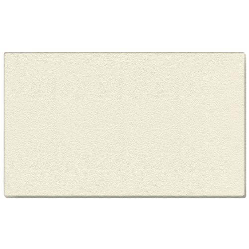 "Ghent 144.5"" x 48.5"" 1/2"" Vinyl Tackboard - Wrapped Edge - Ivory"