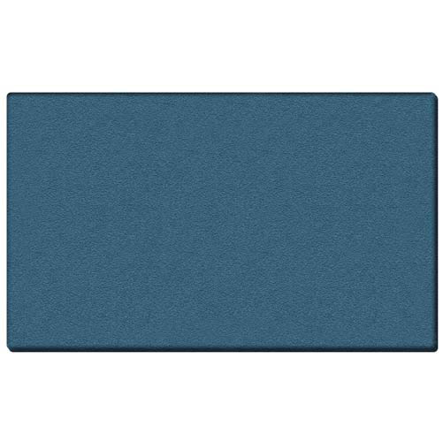 "Ghent 72.5"" x 48.5"" 1/2"" Vinyl Tackboard - Wrapped Edge - Ocean  Vinyl Tackboard - Wrapped Edge - Ocean"