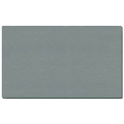 "Ghent 72.5"" x 48.5"" 1/2"" Vinyl Tackboard - Wrapped Edge - Stone  Vinyl Tackboard - Wrapped Edge - Stone"