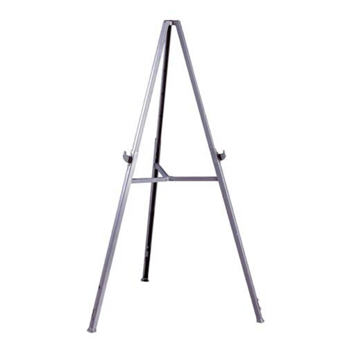 Ghent Triumph Display Easel - Gray Resin, Portable & Lightweight