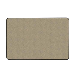"Ghent 24"" x 18"" Gemini Natural Cork Tackboard, with a Hint of Color w/ Black Vinyl Frame - Blue"