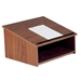Table-Top Portable Lectern/Podium in MediumOak - 22MO - OKS-22-MO