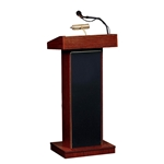 Orator Sound Lectern/Podium in Mahogany color - 800X-MY