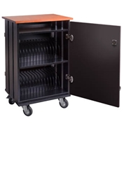 Oklahoma Sound TCSC-32 Tablet Charging and Storage Cart
