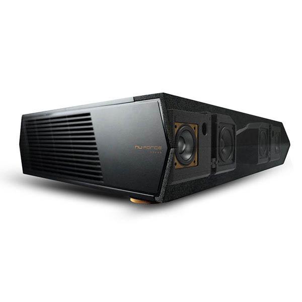 Optoma CinemaX P1 4K UHD 3000 Lumen Ultra Short Throw Home Cinema Laser  Projector-Integrated Soundbar