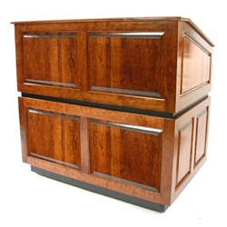 Ambassador Solid Hardwood Lectern with Cherry Finish-without Sound SN3035-CH,SN3035 CH,SN3035CH,SN3035-CH