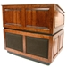 Ambassador with Sound Solid Hardwood Multimedia Lectern with Maple Finish - SS3035-MP