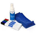 Da-Lite 22614 Idea Replacement marker, cleaning cloth and cleaner kit