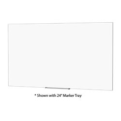 "Da-Lite 25939 Idea Screen/Board 94""diag. (50x80) with 24"" Marker Tray"