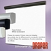 Draper 108223-Black Silhouette/Series E 115 diag. (69x92) - Video [4:3] - 1.0 Gain - Draper-108223-Black
