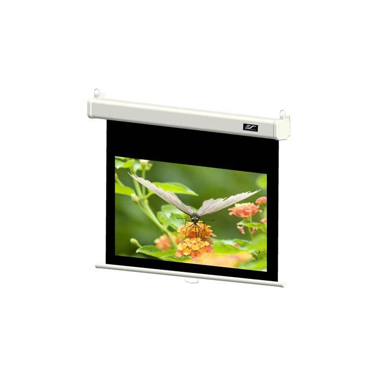 "Elite Screens Manual SRM Pro M84HSR-PRO - 84"" (41x73) - [4:3] - Manual Wall and Ceiling Projector Screen"