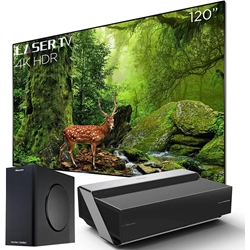 Hisense 120L10E 4K Ultra HD Smart Dual Color Laser Projector System