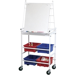 Best-Rite 782 Cart Wheasel Mobile Storage & Learning Easel