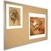 Best-Rite 303AD Natural Cork-Plate Tackboard with Aluminum Trim - BestRite-303AD