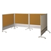 Best-Rite 661AD-DT DOC Mobile Room Partition & Display Panel - BestRite-661AD-DT