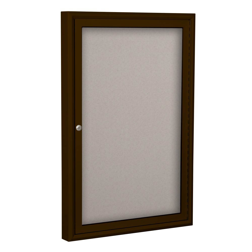 Best-Rite 94PCH-O Outdoor Enclosed Bulletin Board Cabinet ...