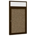 Best-Rite 94PS2-OH Outdoor Headline Bulletin Board Cabinet - BestRite-94PS2-OH