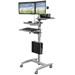 Balt 27614 Beta Cart Adjule Sit And Stand Workstation