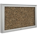 Best-Rite 94HADC-O-RT Weather Sentinel Outdoor Bulletin Board Cabinet - BestRite-94HADC-O-RT