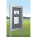 Best Rite 94hac Op Rt All Weather Herald Outdoor Bulletin Board Cabinet
